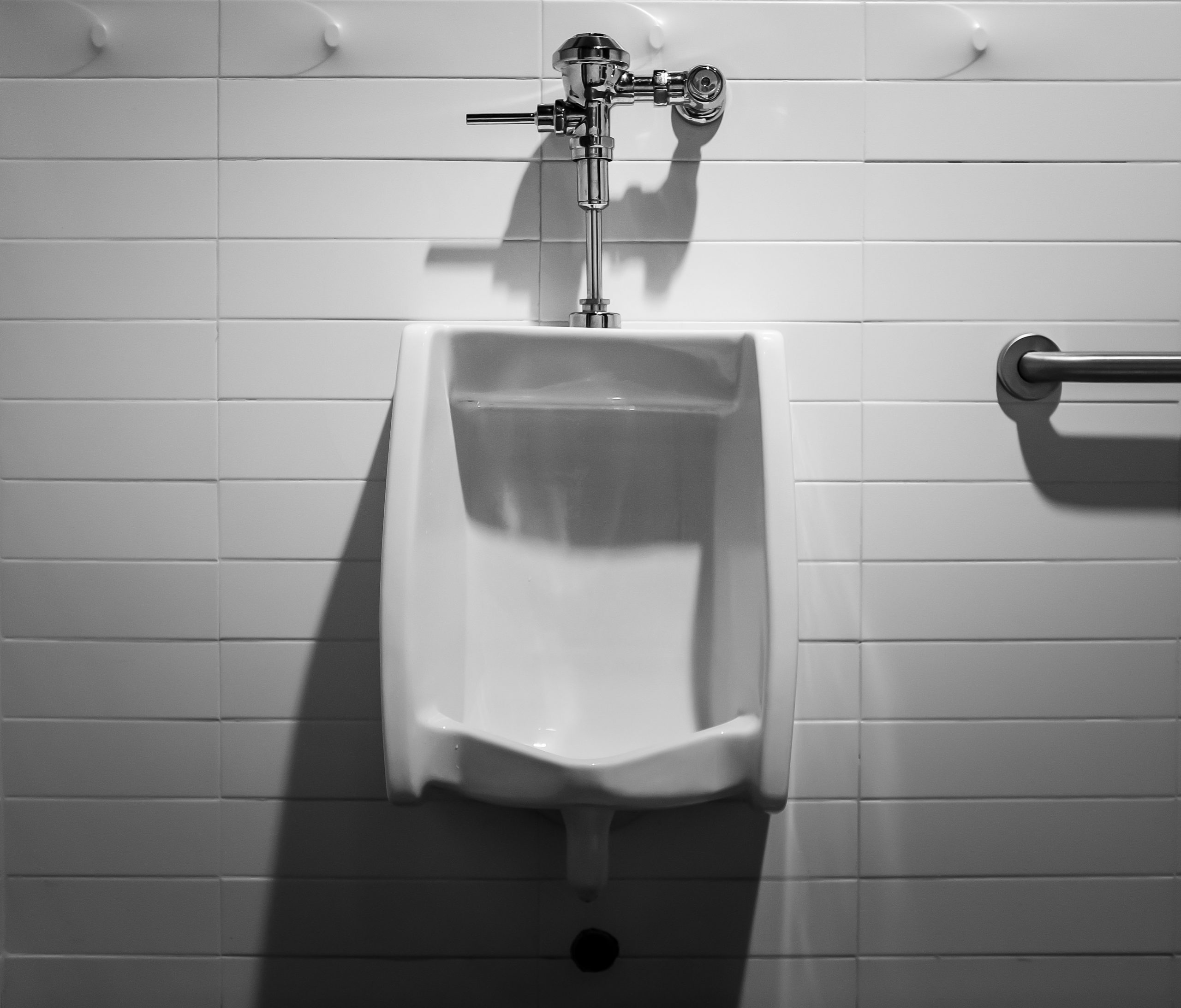 Picture of a disinfected toilet.